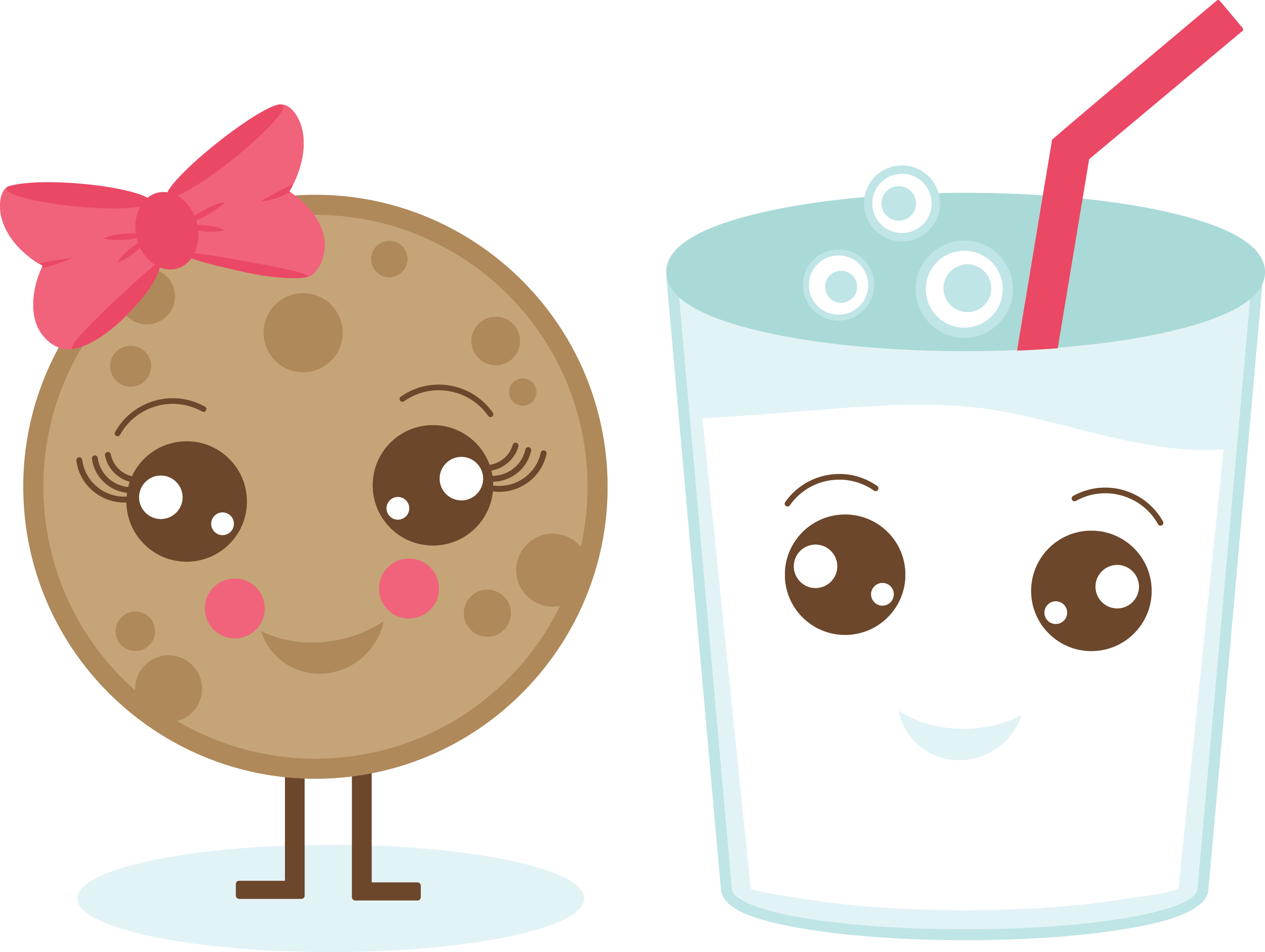 Clipart cookies glass milk. Of and usbdata