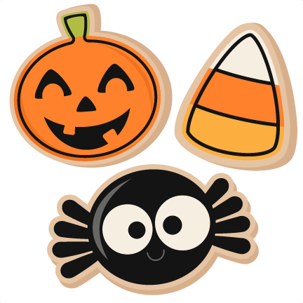 Halloween . Cookies clipart pumpkin cookie