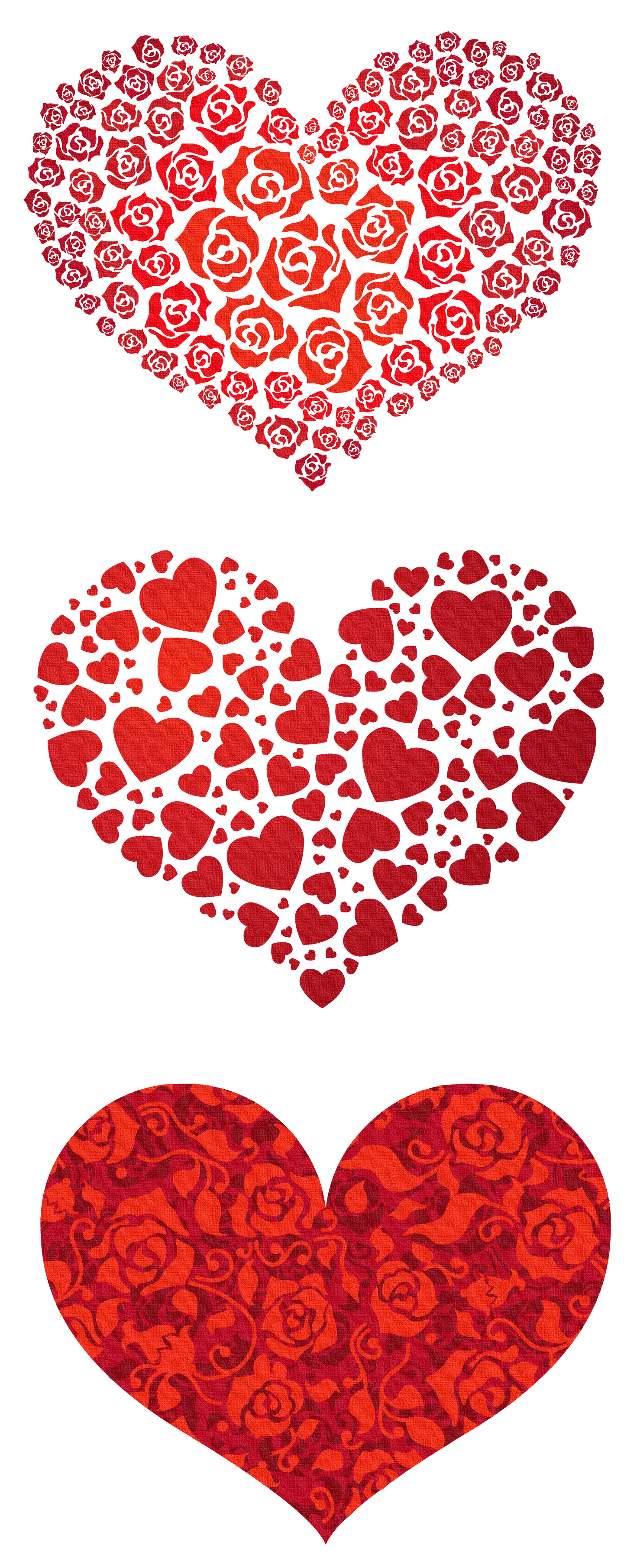 Red hearts transparent graphics. Clipart cookies heart