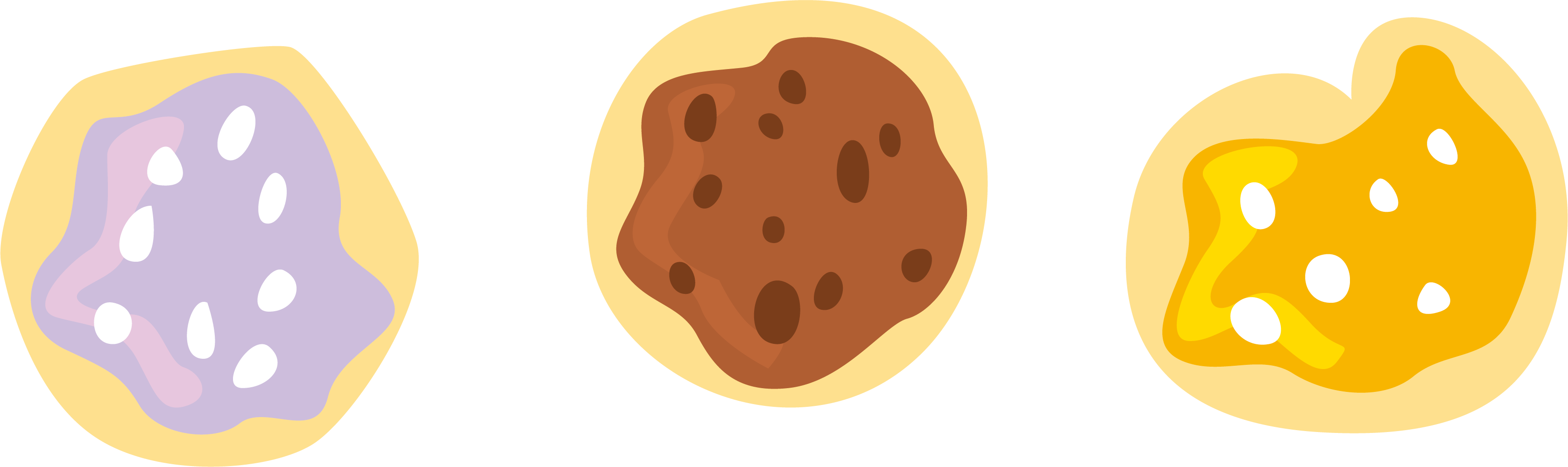 Cookie clipart butter cookie. Chocolate chip purple cookies