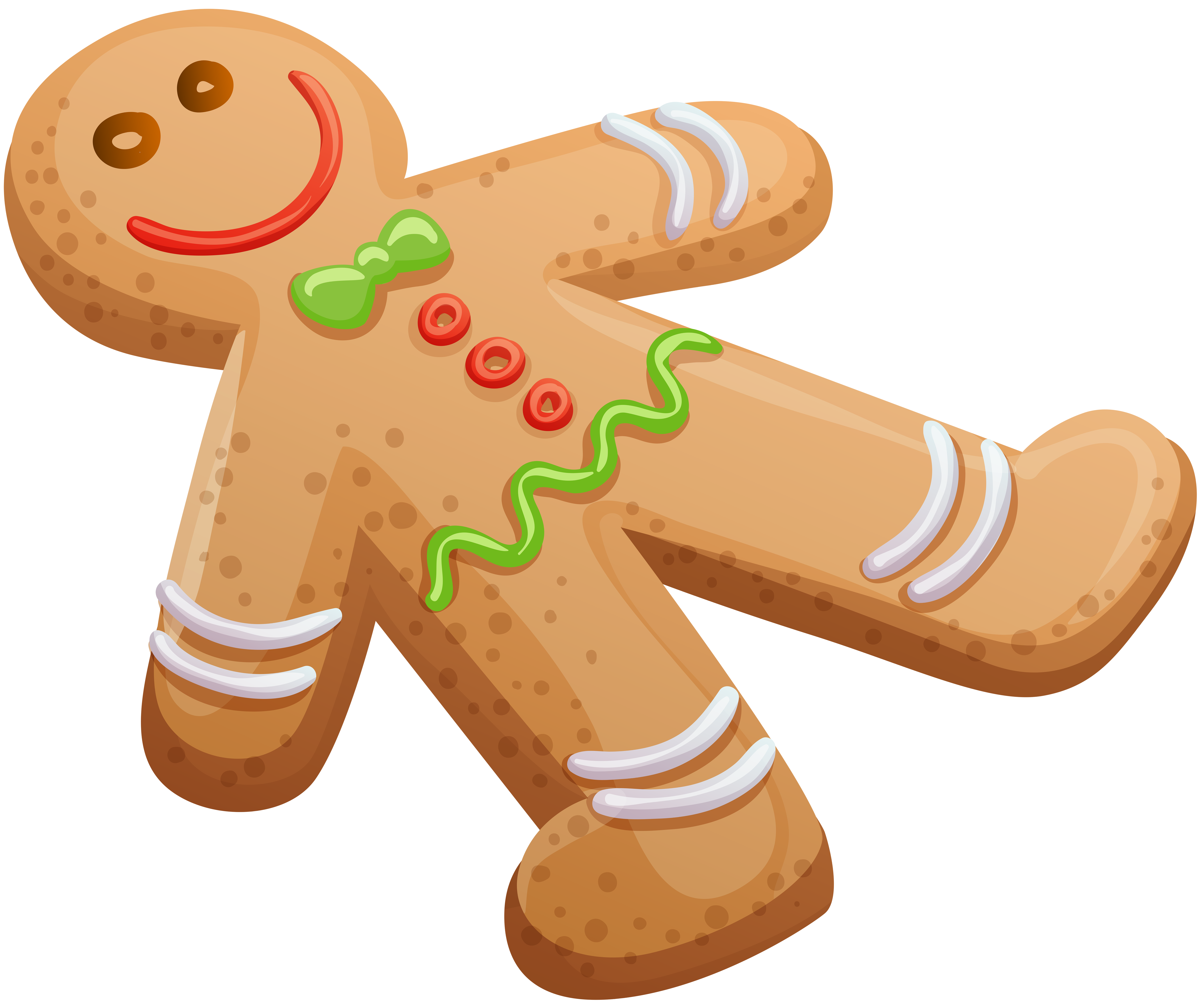 Gingerbread man cookie png. Desserts clipart snack