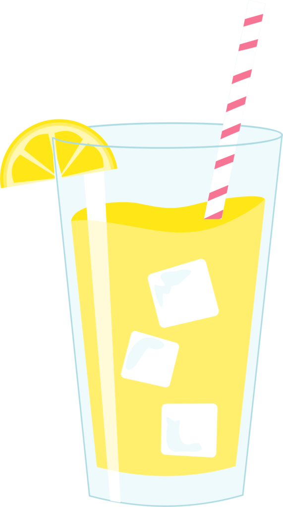 Glass of cookie cutter. Clipart glasses lemonade