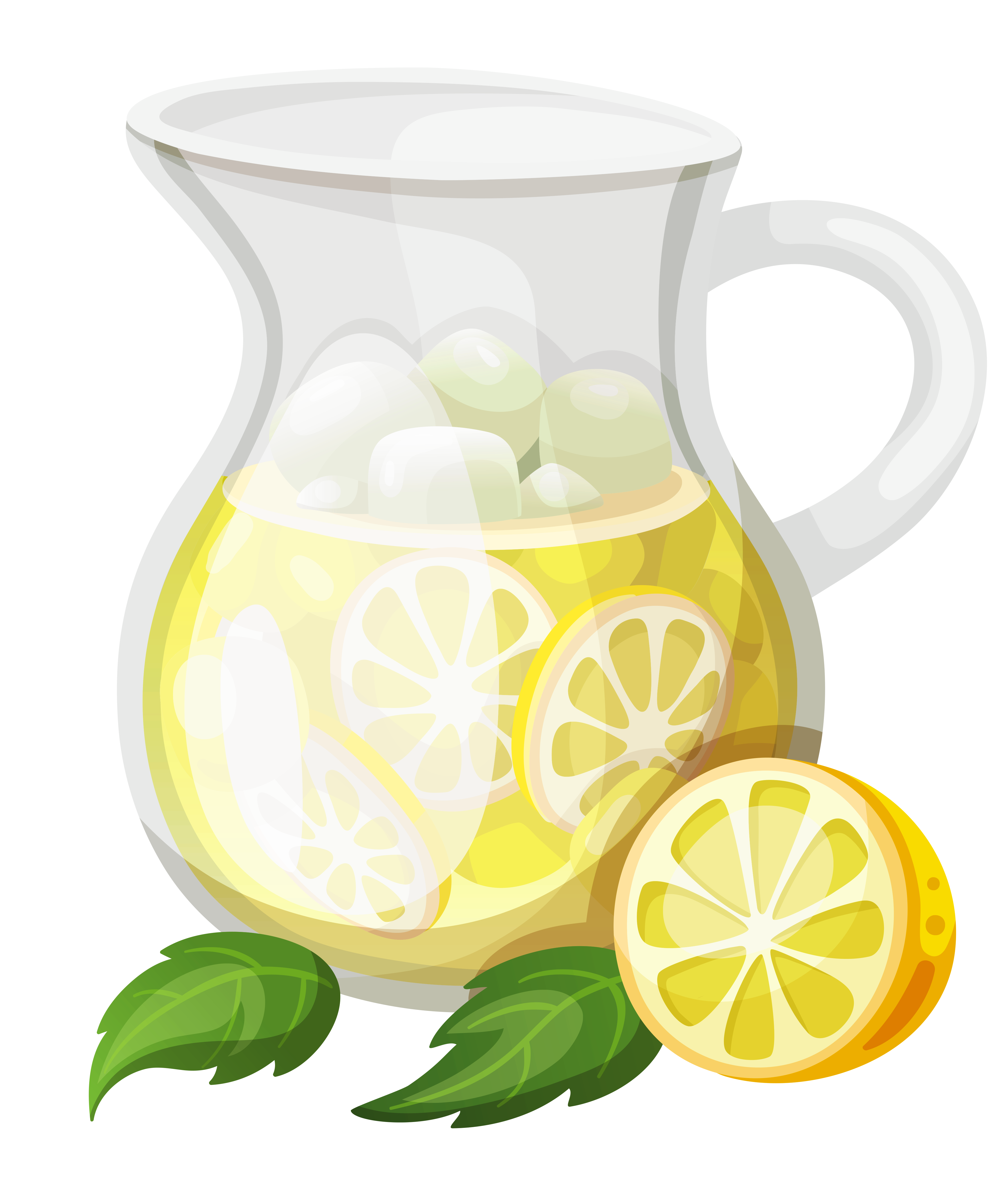 Transparent ice png gallery. Lemons clipart lemonade
