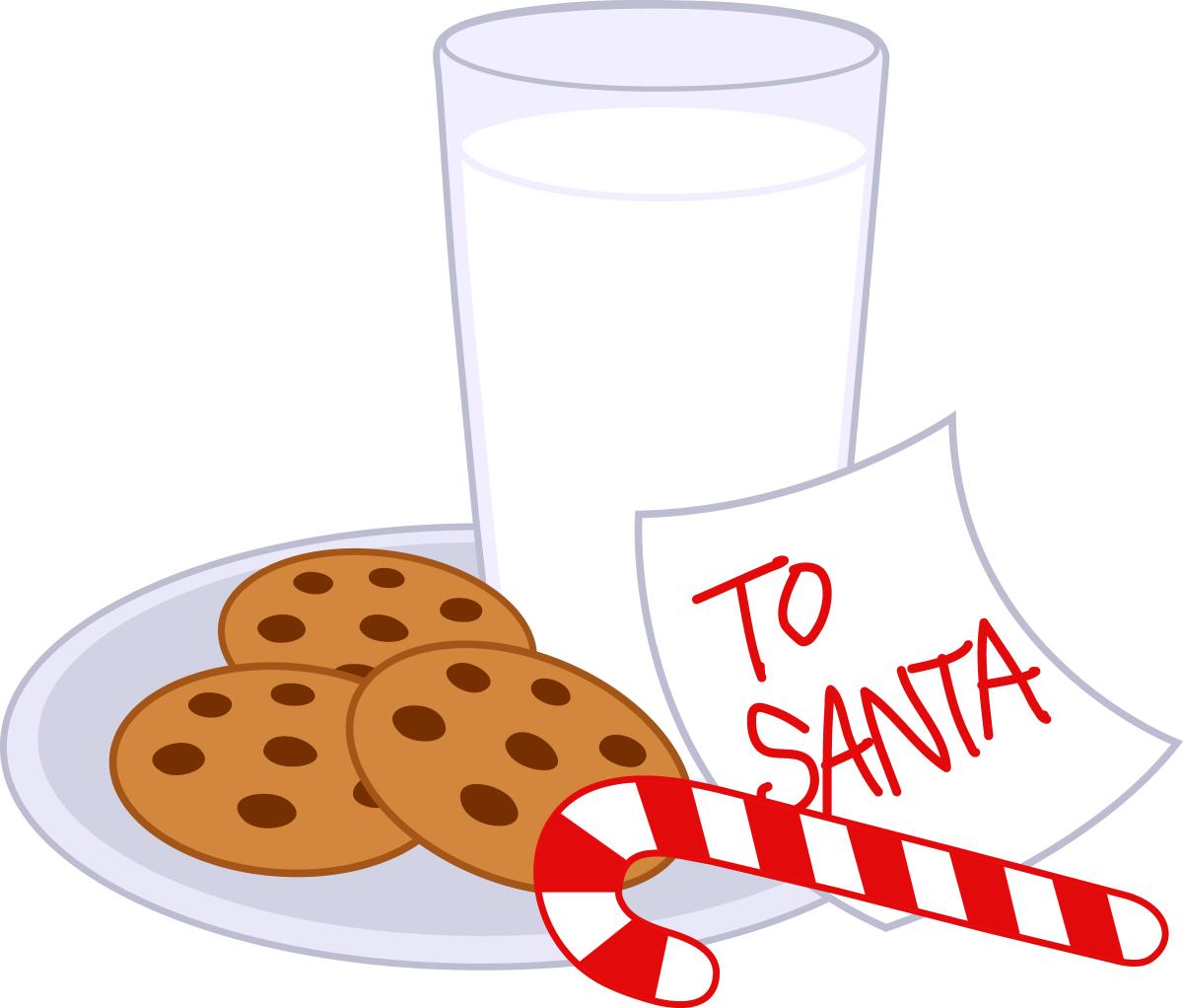 Milk clipart christmas. Cookies edge christmascookiesmilk