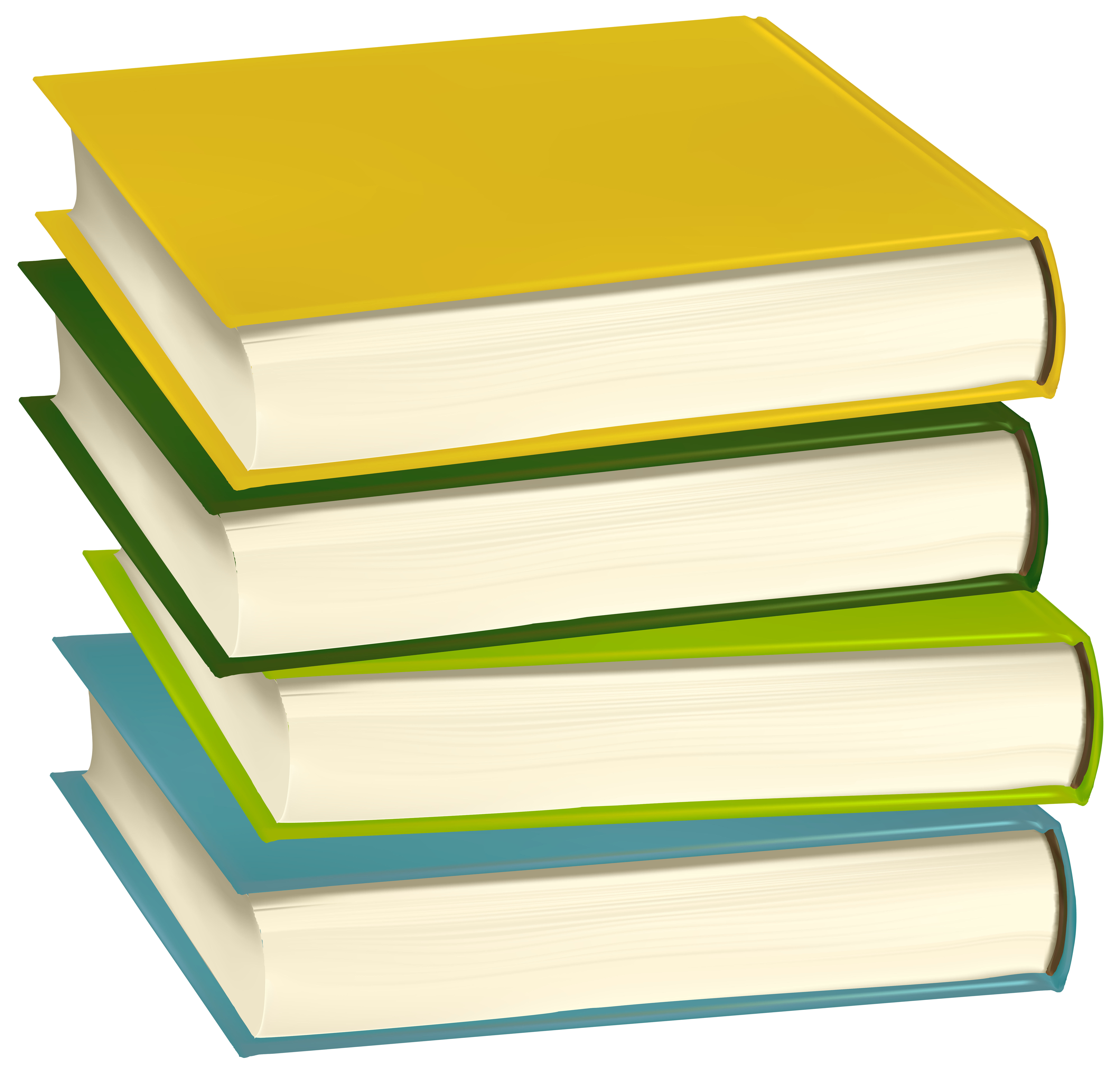 Clipart paper paper pile. Of books png clip