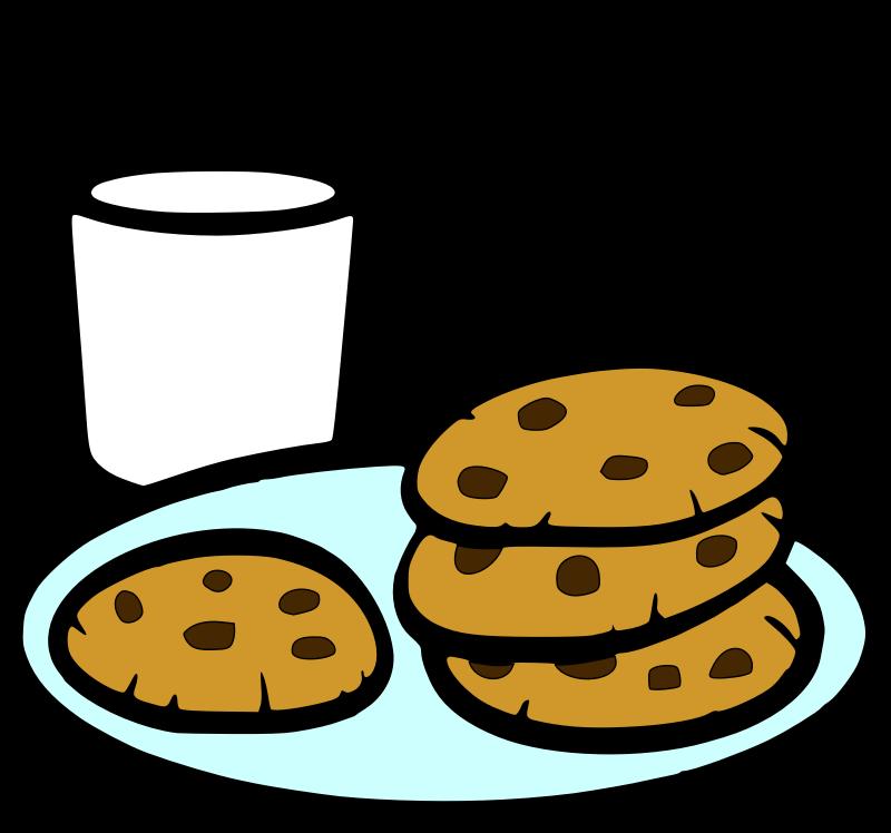 Chocolate chip cliparthut free. Flour clipart sugar cookie