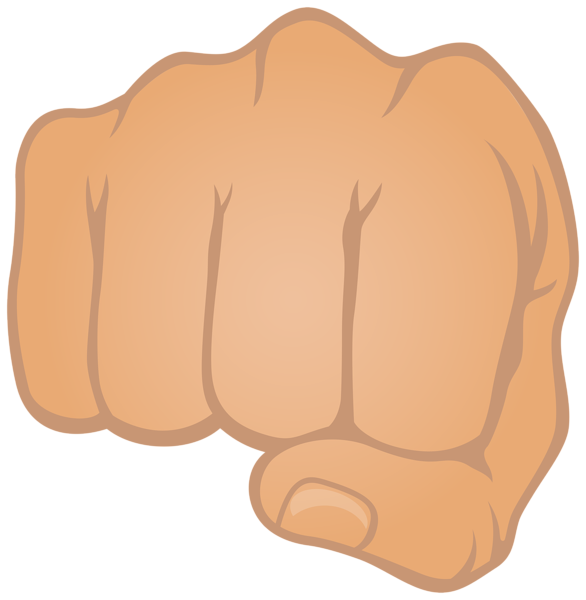 Fist punch png clip. Fight clipart punched