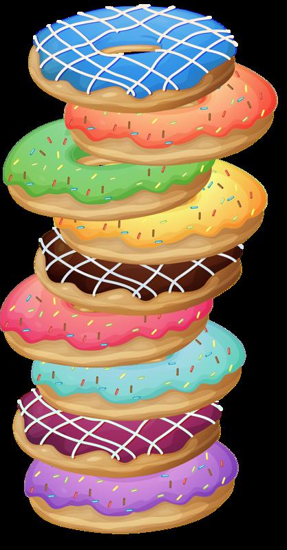 png pinterest clip. Donuts clipart carton