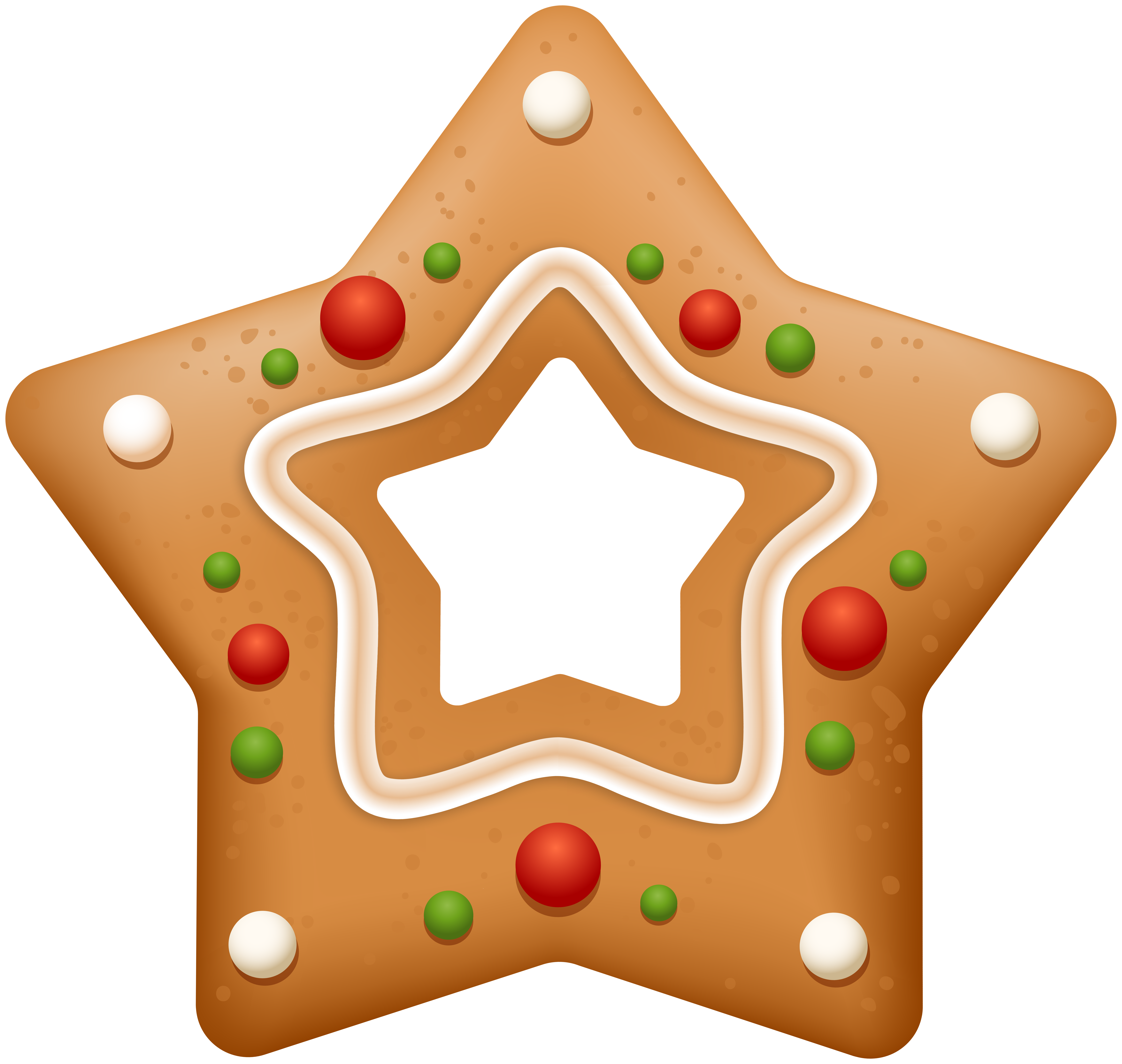 Cookie clip art gallery. Gingerbread clipart star
