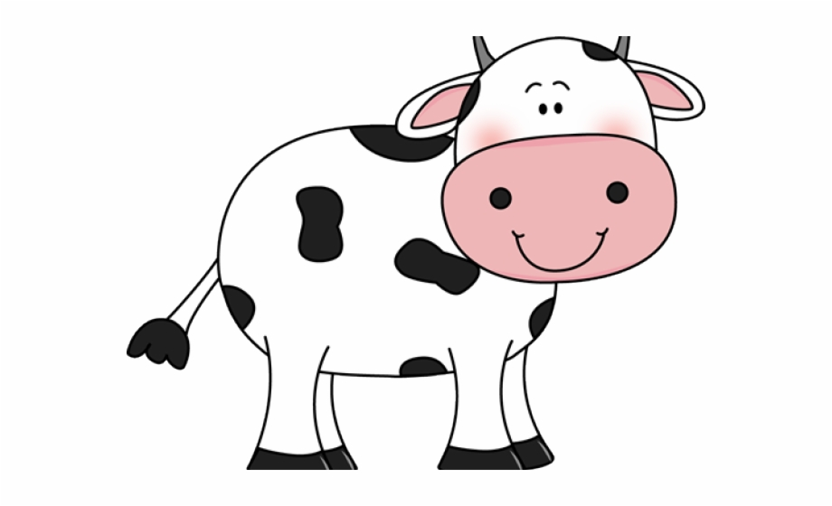 Cow clipart cartoon. Cute png pngtube