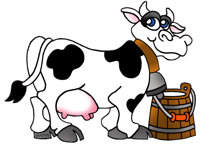 Cows clipart home. United states clip art