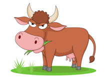 Free clip art pictures. Clipart cow attitude