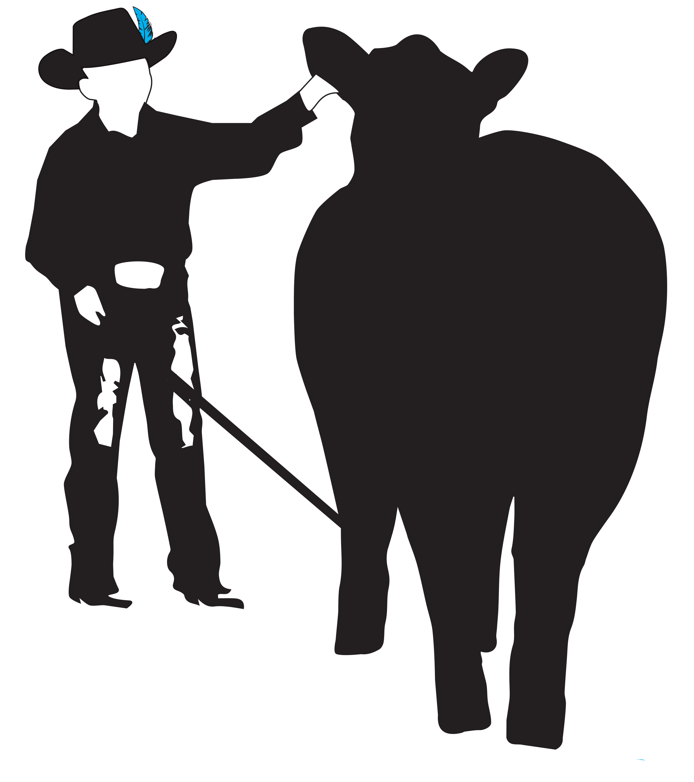 Cody sibbald legacy fund. Clipart cow attitude