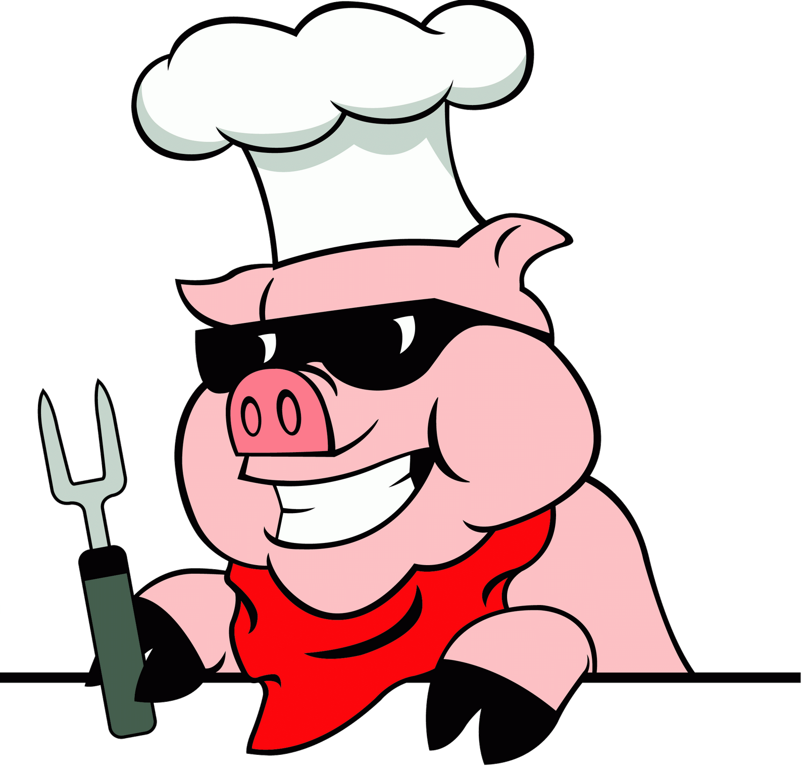 Mandalsuranjan i will design. Hungry clipart bbq restaurant