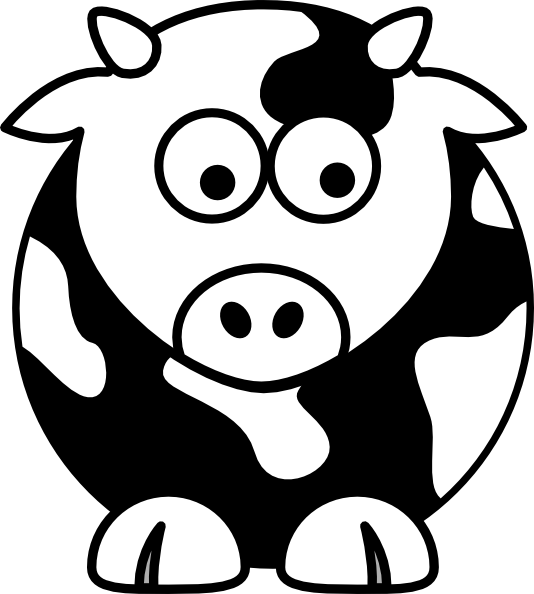 Clip art black and. Poop clipart cow pat