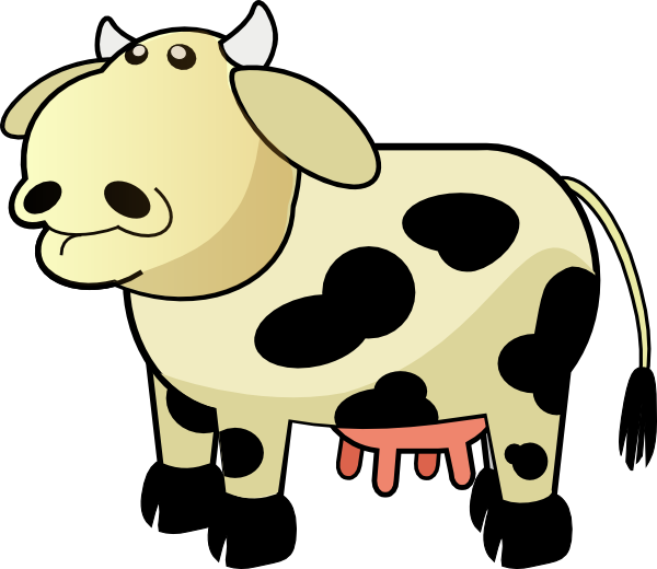 Animated cows pictures desktop. Ox clipart animation
