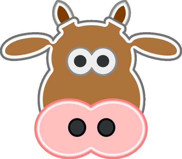 Longhorn clipart vector. Cow clip art at