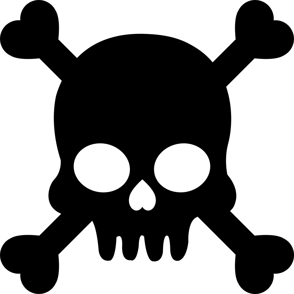 Clipart flowers skull. Silhouette clip art at