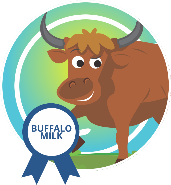 Clipart cow buffalo. Country delight product
