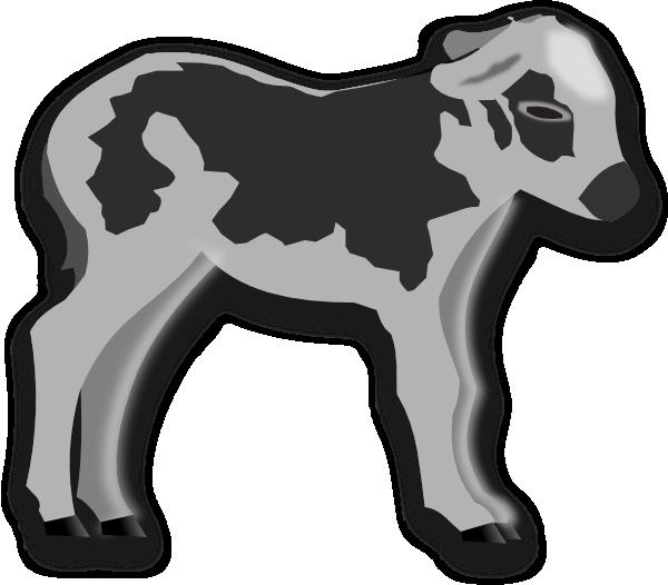Clip art at clker. Cow clipart calf