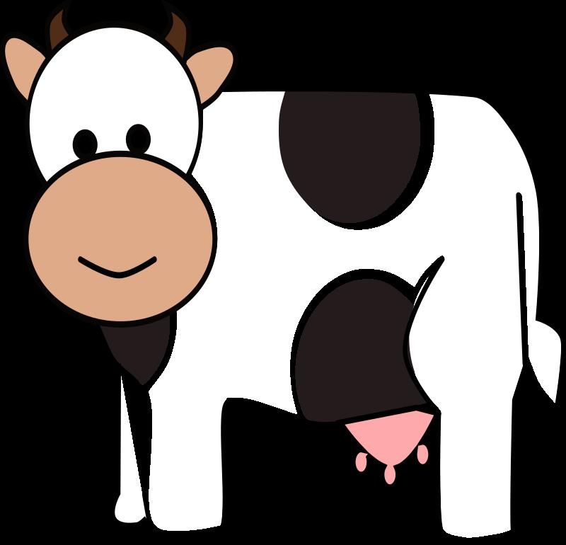 Happy cow medium image. Ox clipart cartoon