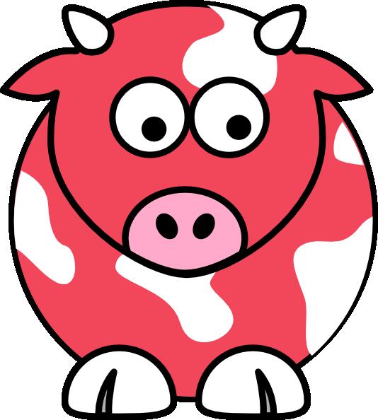 Watermelon clip art at. Clipart cow cartoon