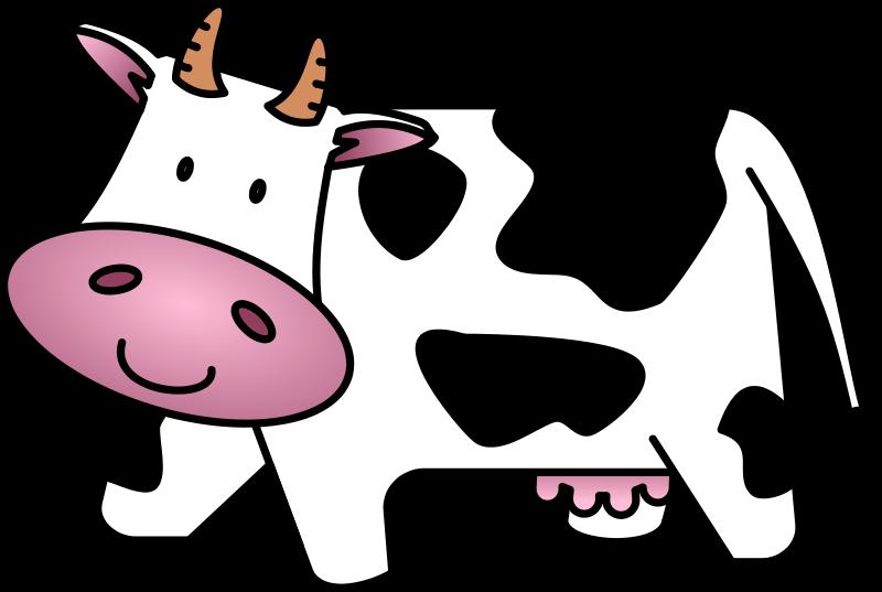 Ox clipart cartoon. Cow clip art free