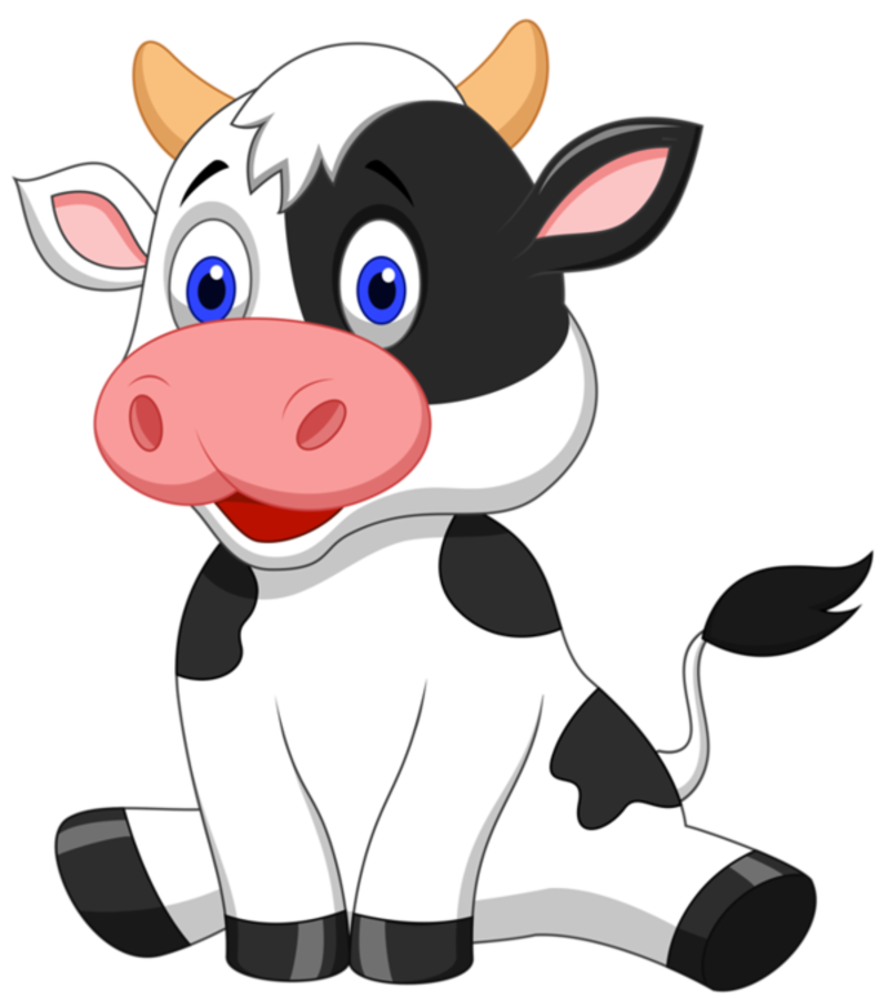 Party clipart cow. Dibujos animados de vacas