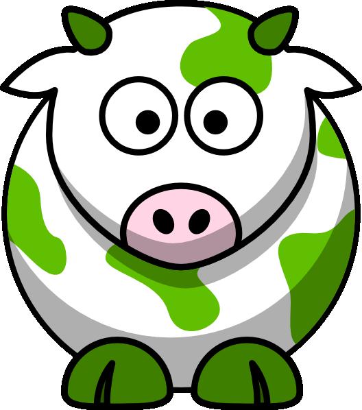 Cow clipart clip art. Green at clker com