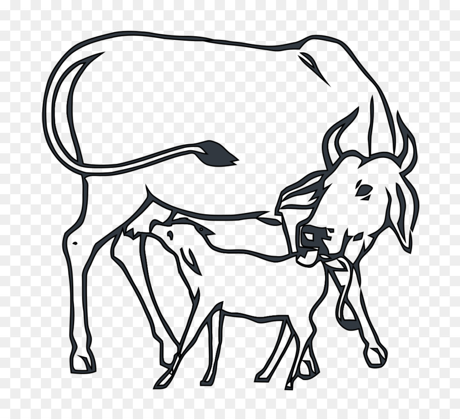 India pattern background cattle. Cows clipart cow indian