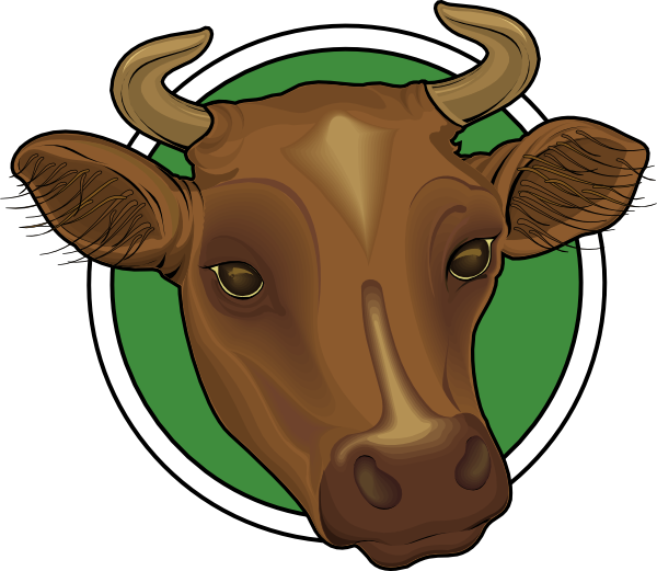 Longhorn clipart male cow. Head panda free images