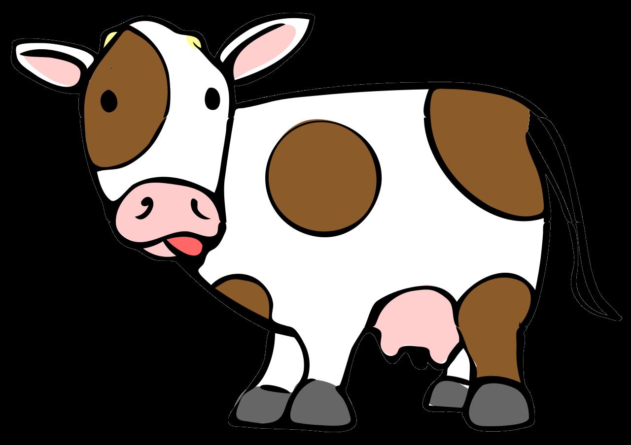 Cartoon drawing at getdrawings. Leg clipart cow