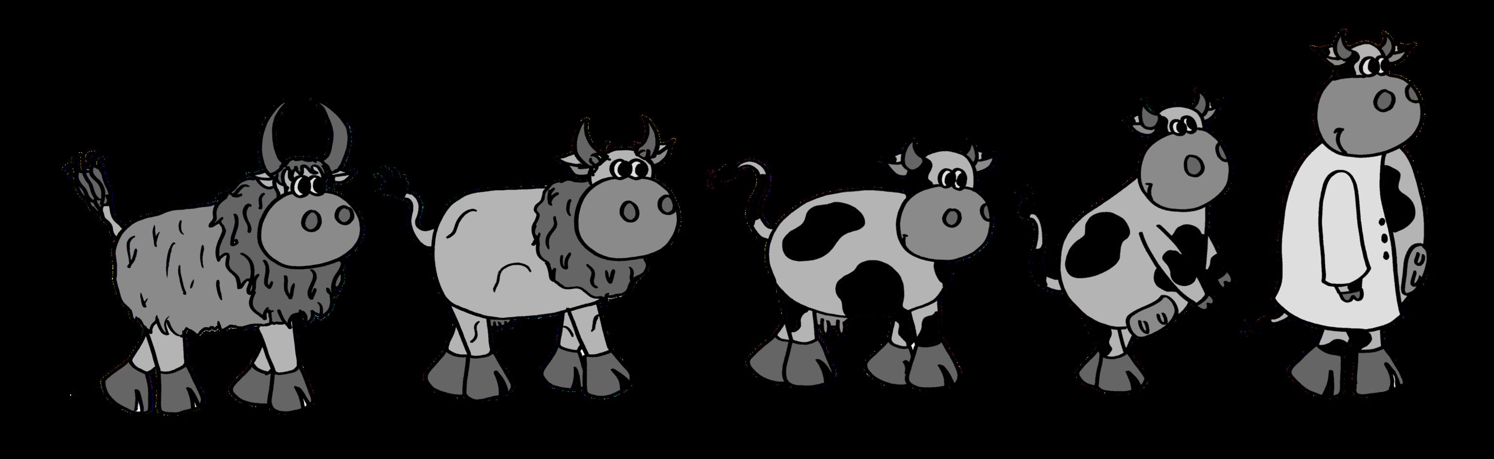 Team braunschweig project content. Cows clipart digestive system