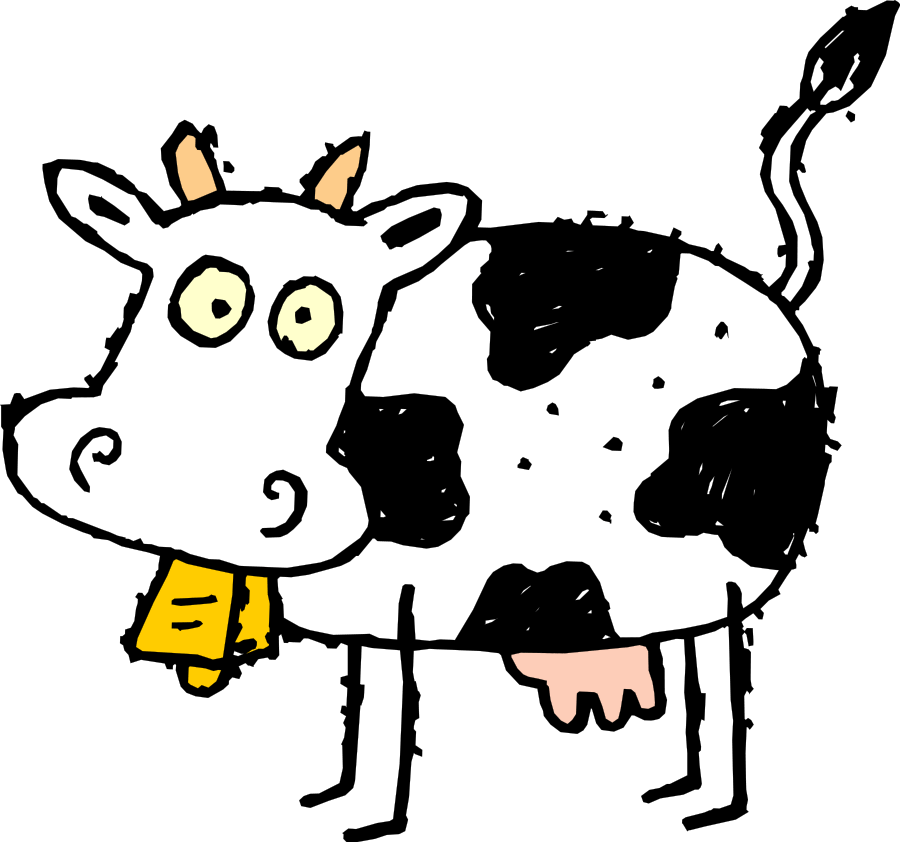 day no dairy. Cows clipart digestive system