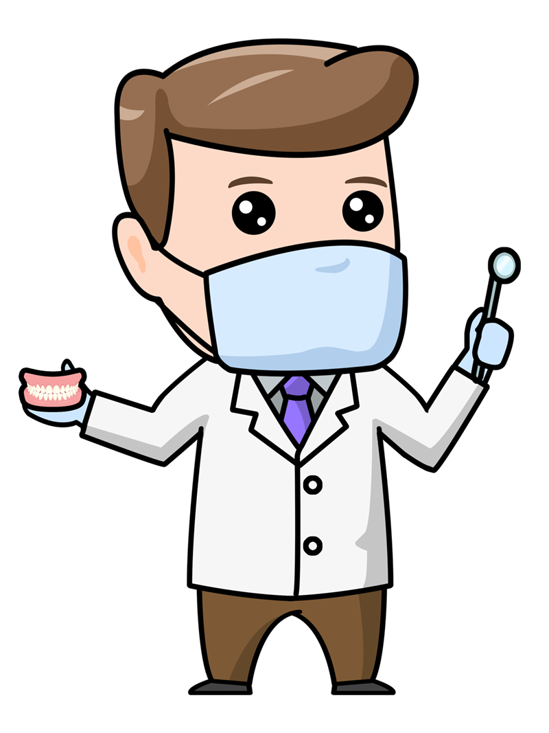 Free clip art doctor. Dentist clipart visited