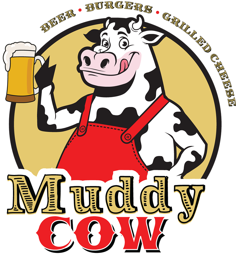 Muddy cow bar grill. Grilling clipart patio party