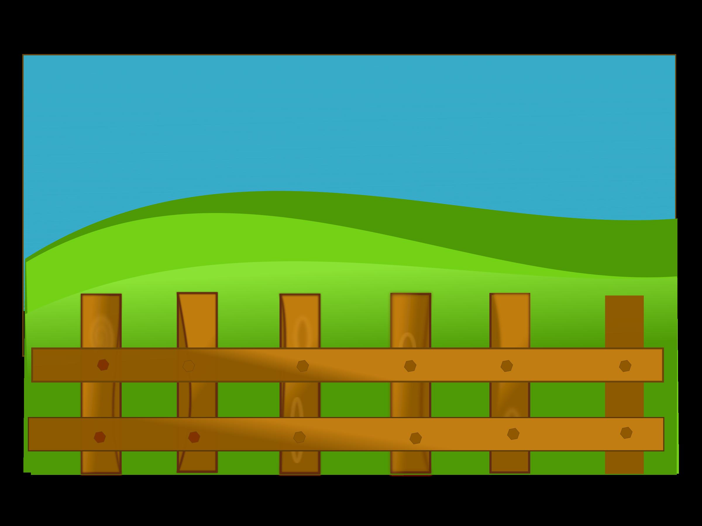 Clipart grass fence. Netalloy farm big image