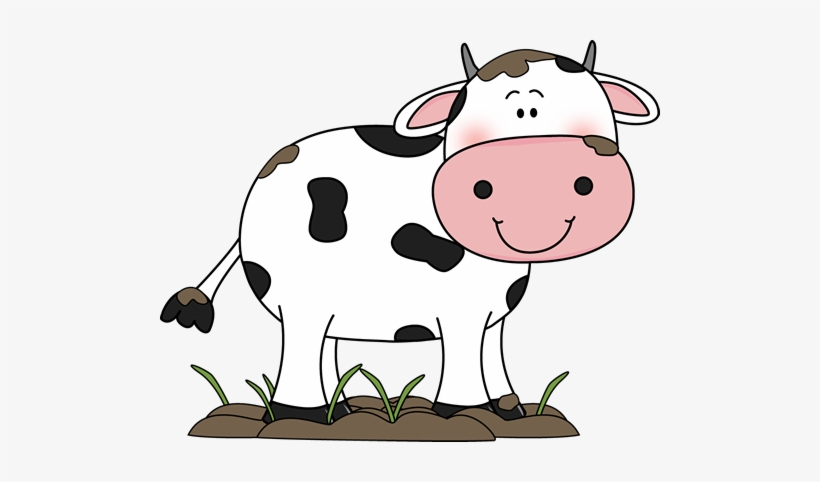 Clipart cow flower. Mud pig face with