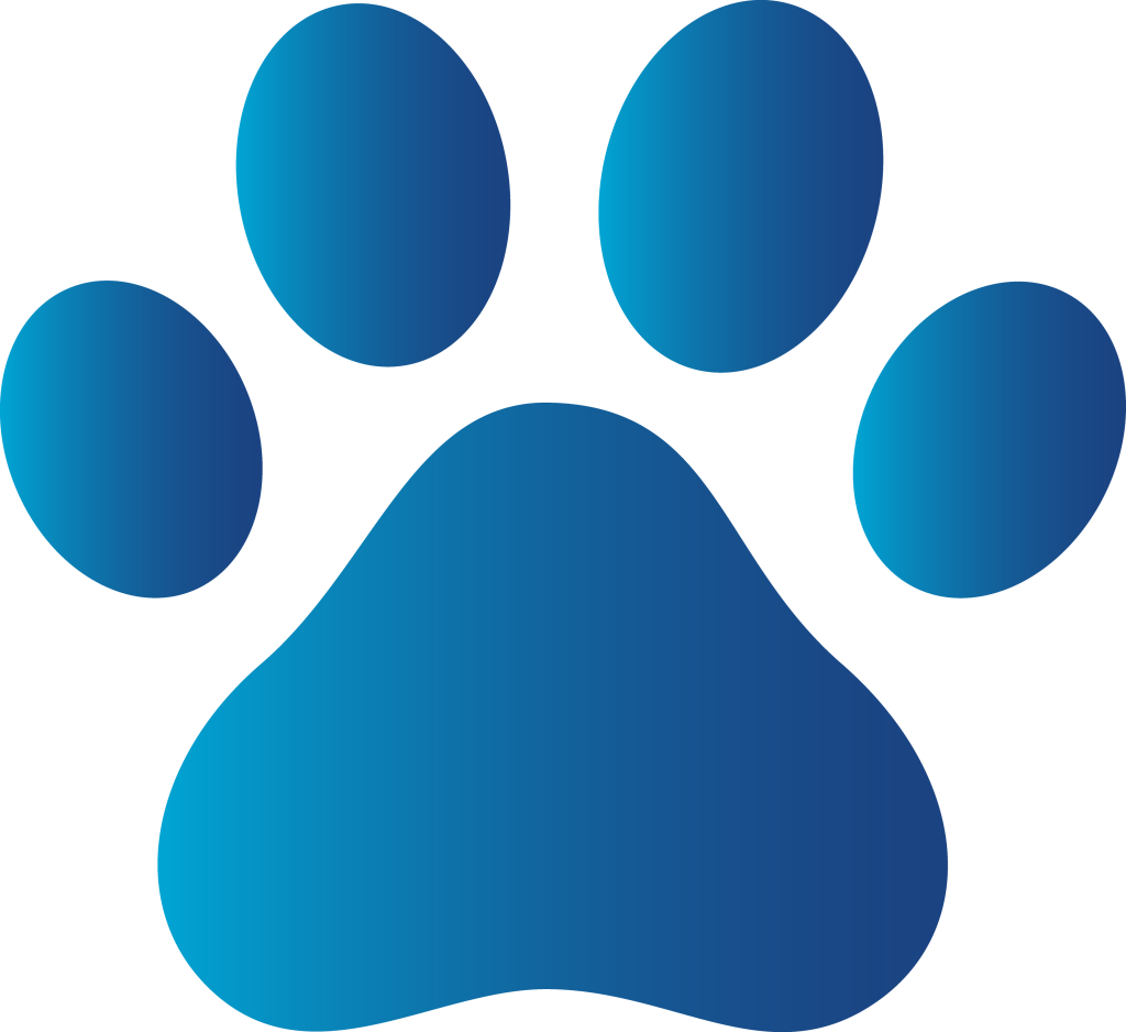 Paw print tattoos on. Galaxy clipart blue
