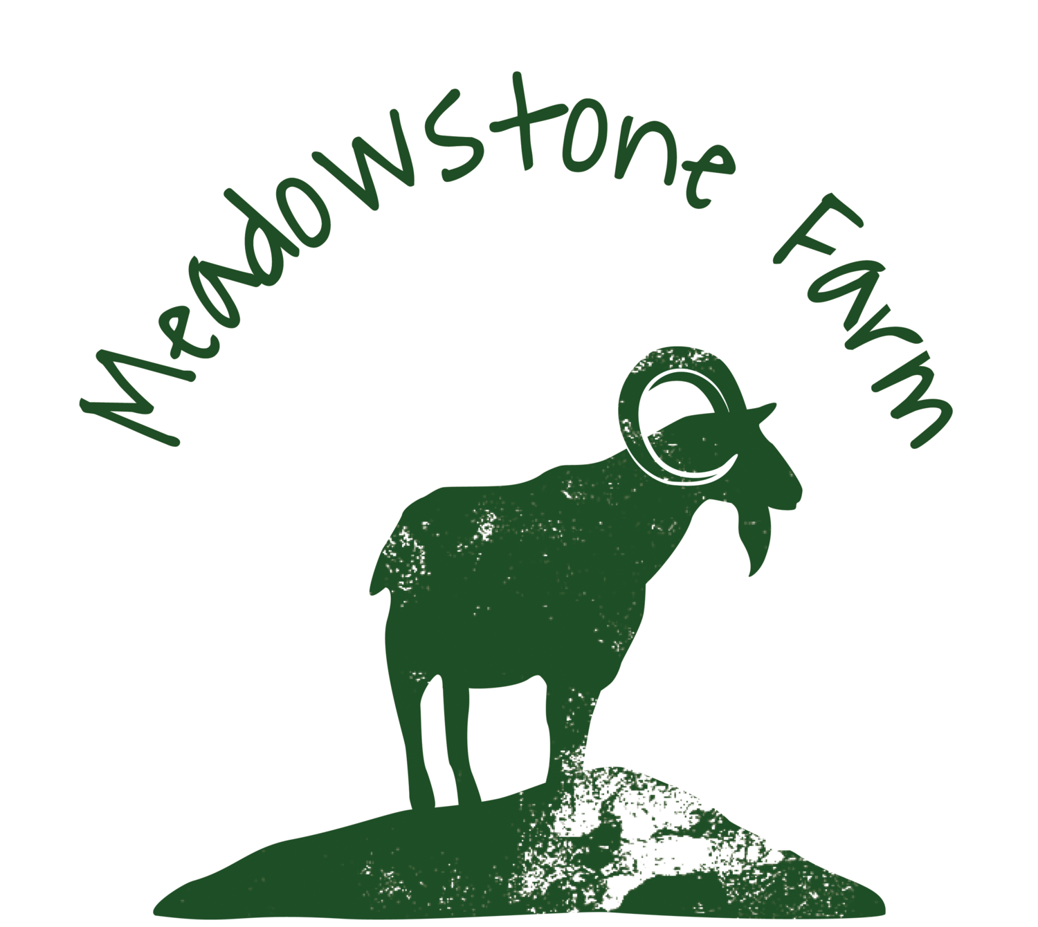 Pastured animals meadowstone farm. Clipart cow goat