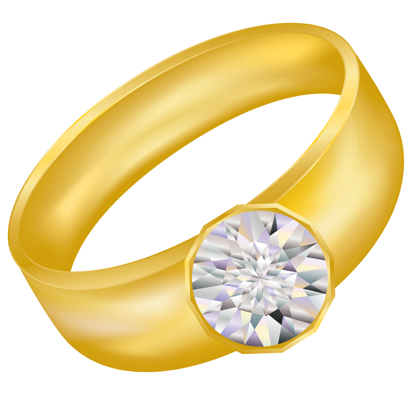 Engagement clipart bachelorette ring. Transparent gold with diamond