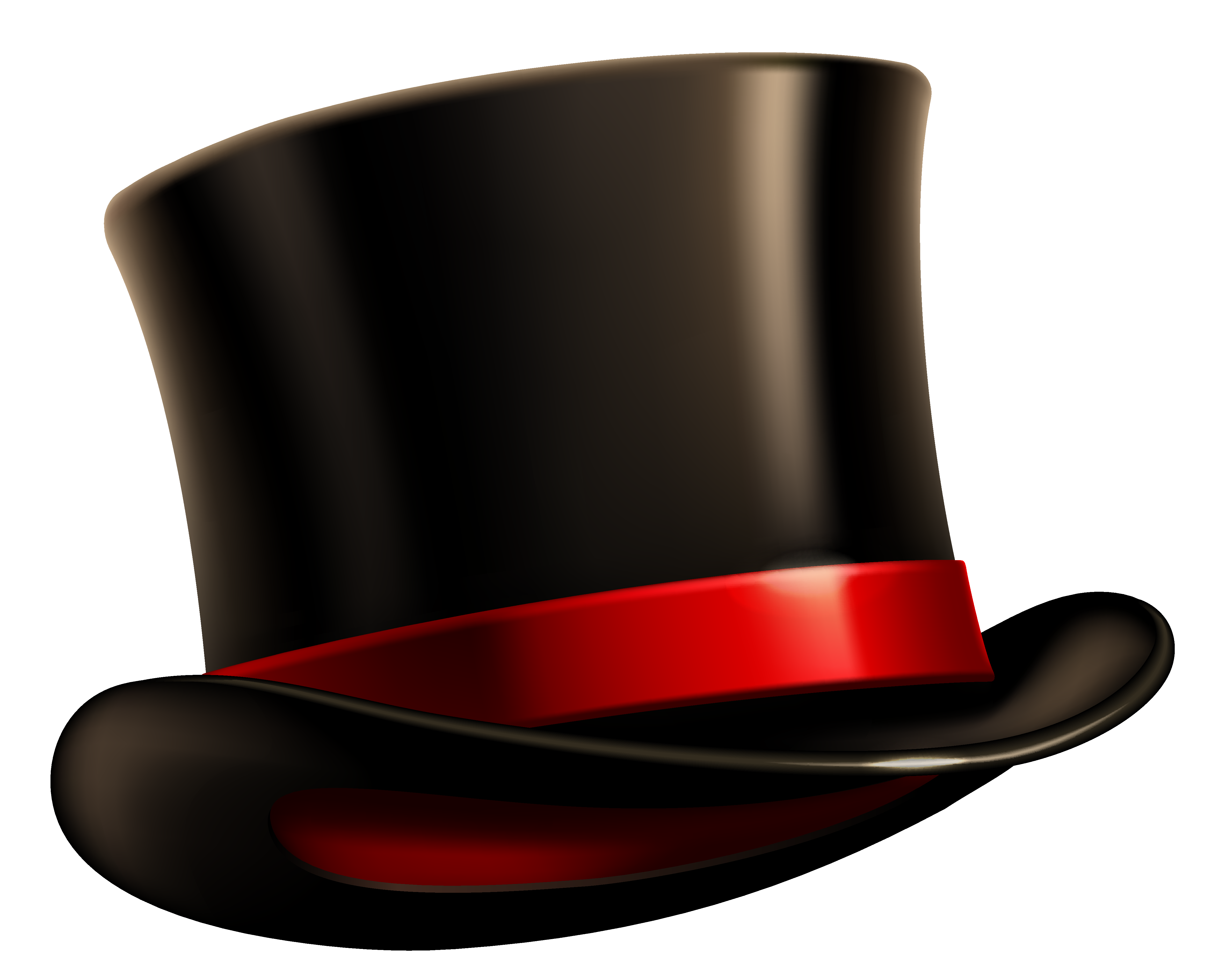 Brown png gallery yopriceville. Groundhog clipart top hat