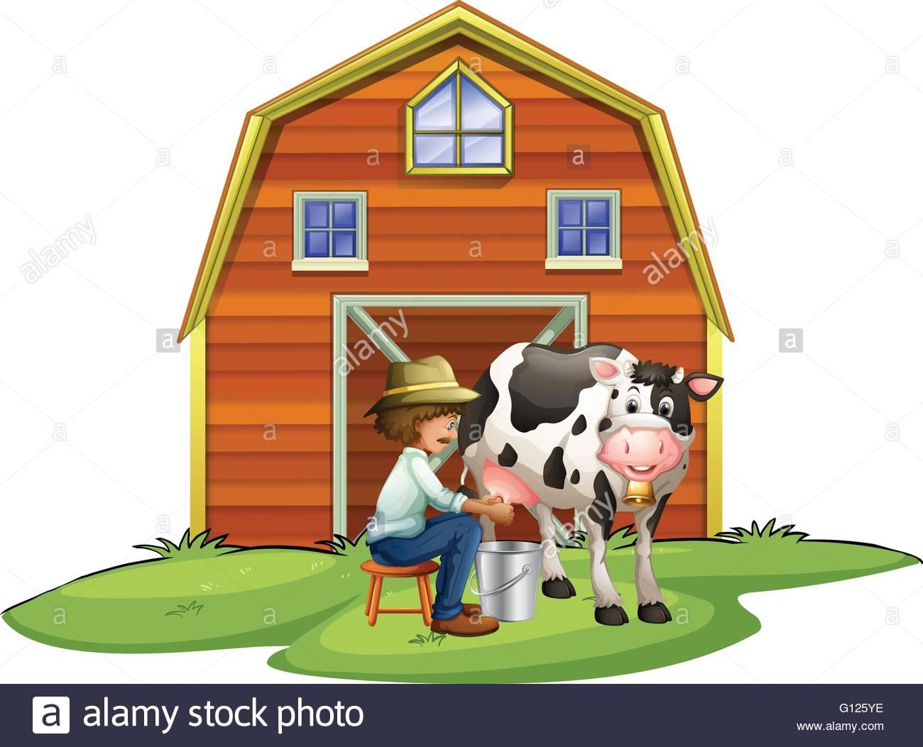 Cows clipart home. Cow house portal