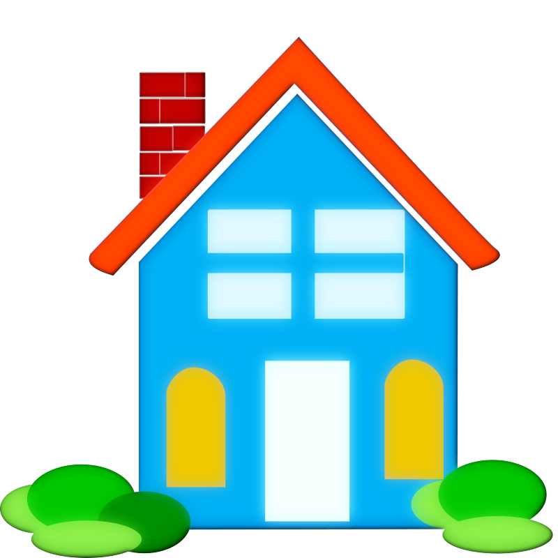 School free images clipartix. Clipart shapes house