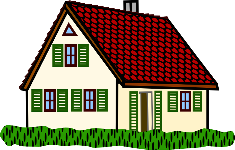 Houses clip art clipartcow. Mansion clipart inside