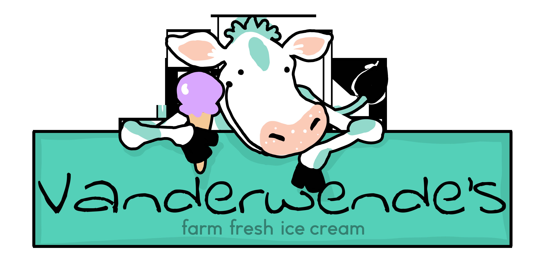 Cows clipart ice cream. Vanderwendecreamery