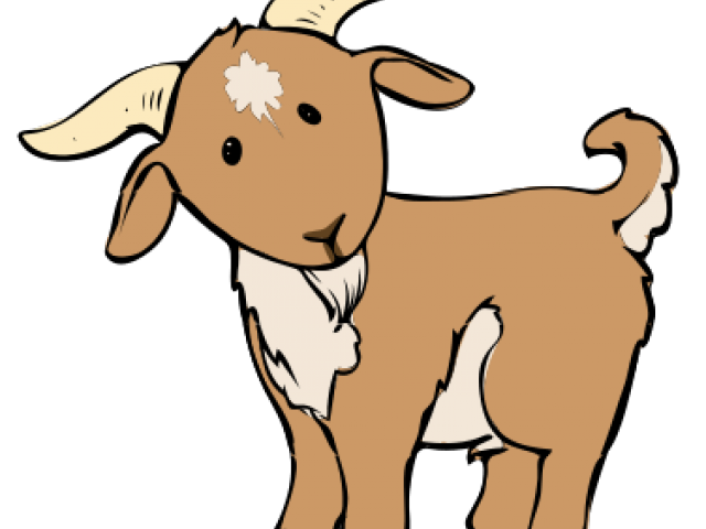 Billy goat free on. Clipart cow kawaii