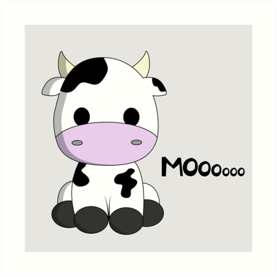 Clipart cow kawaii.  cute baby cartoon