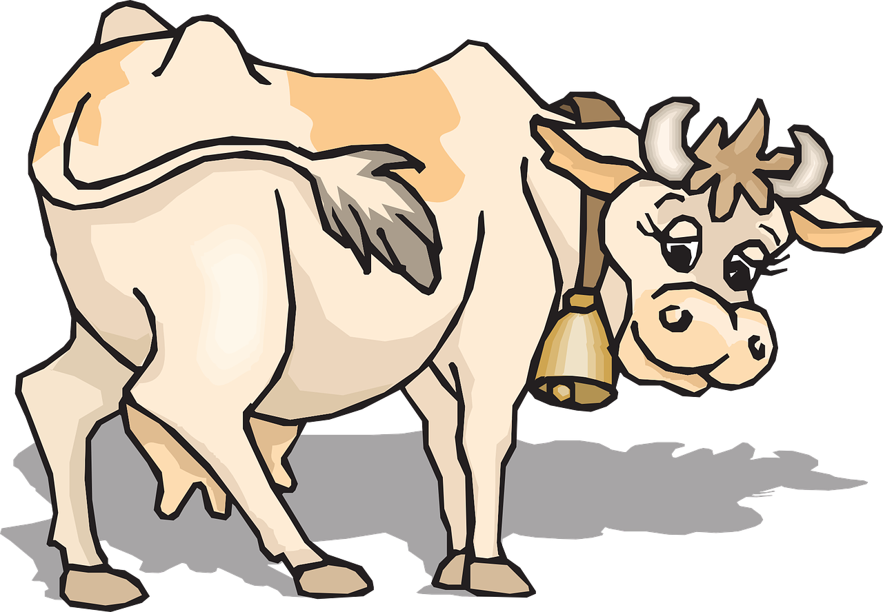Cows clipart livestock. Cow rear cattle farm
