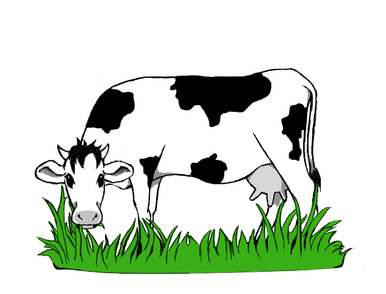 collection of cow. Goat clipart goat grazing